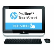 HP® Pavilion TouchSmart 23 All-in-One Desktop PC, Intel Core i3-4130T 2.9 GHz