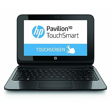 HP® Pavilion TouchSmart 10-e010nr 10.1in. LED LCD Notebook, AMD Dual-Core A4-1200 1 GHz