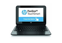 HP® Pavilion TouchSmart 10-e010nr 10.1' LED LCD Notebook, AMD Dual-Core A4-1200 1 GHz