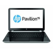 HP® Pavilion TouchSmart 15-n230us 15.6 LED LCD Notebook, Intel Dual-Core i3-4005U 1.7 GHz