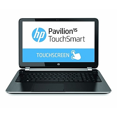 HP® Pavilion TouchSmart 15-n260us 15.6in. LED LCD Notebook, AMD Quad-Core A8-5545M 1.7 GHz