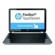 HP® Pavilion TouchSmart 15-n260us 15.6 LED LCD Notebook, AMD Quad-Core A8-5545M 1.7 GHz