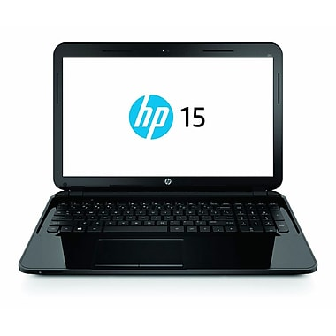 HP® 15-d030nr 15.6in. LED LCD Notebook, Intel Pentium N3510 2 GHz, Sparkling Black