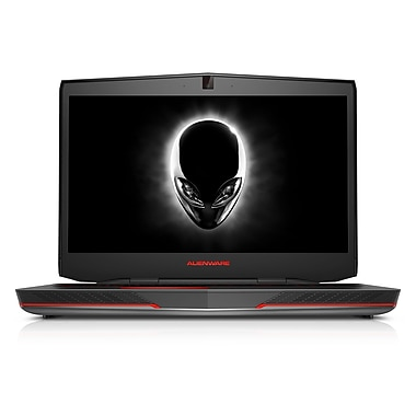 Dell™ Alienware 17 17.3in. WLED Gaming Laptop, 4th Gen Intel Core i7-4700MQ 3.4 GHz, Silver