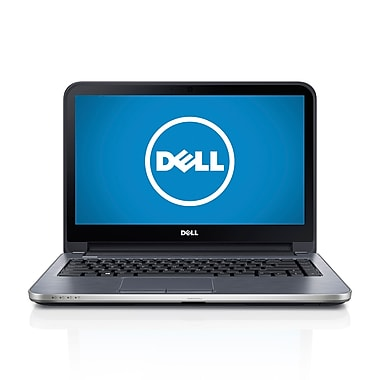 Dell™ Inspiron 14R 14in. LED Touchscreen Notebook, 4th Gen Intel Core i3-4010U 1.7 GHz, Moon Silver
