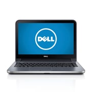 Dell™ Inspiron 14R 14 LED Touchscreen Notebook, 4th Gen Intel Core i3-4010U 1.7 GHz, Moon Silver