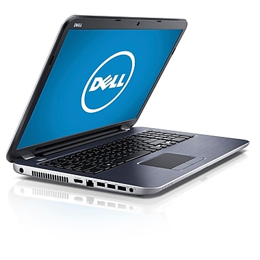 Dell™ 17.3in. Notebook, AMD Quad Core A8-5545M 1.7 GHz, Moon Silver