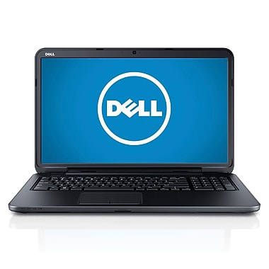 Dell™ Inspiron 17R 17.3in. LCD LED Notebook, Intel Dual Core i3-4010U 1.7 GHz Windows 8.1, Black