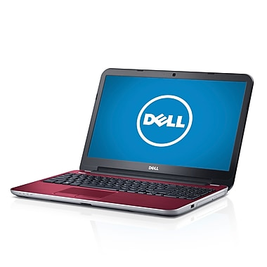Dell™ 15.6in. Notebook, AMD Quad Core A8-5545M 1.7 GHz, Fire Red