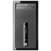 HP® ProDesk 400 G1 Personal Computer, Intel Dual Core i3-4130 3.4 GHz Win 7 Pro 32-bit