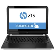 HP® Smart Buy 215 G1 11.6 LCD LED Touchscreen Notebook, AMD Dual Core A4-1250 1 GHz, Silver