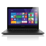Lenovo® IdeaPad S400 14 Touchscreen Notebook, Intel Dual Core i3-3217U 1.8 GHz, Silver Gray/Black