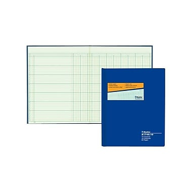 Blueline® Columnar Book, A1740-10, 10 Columns, 80 Sheets, 10
