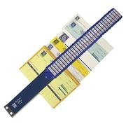 "C-Line® Heavy Duty Document Sorter, 2-1/2"" x 25-1/2"", Blue"