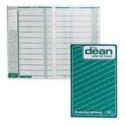 "Dean & Fils Payroll Book, 80-024, 13-3/4"" x 9"", 24 Employee, English, each"