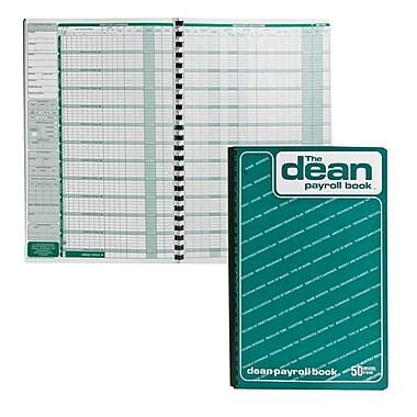 Dean & Fils Payroll Book, 80-050, 13-3/4
