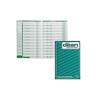 Dean & Fils Payroll Book, 95-004, 13-3/4