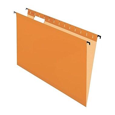 Pendaflex® SureHook™ Reinforced Hanging Folder, Legal Size, Orange, 20/Box