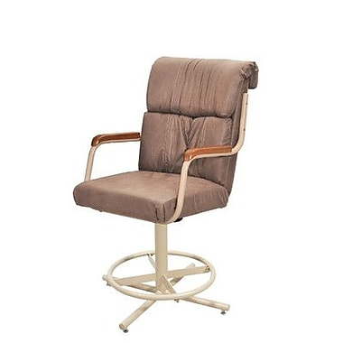 Douglas Casual Carol 24'' Swivel Bar Stool with Cushion