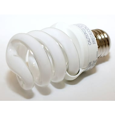TCP SpringLamp® 13 Watt 120 Volt Spiral CFL Bulbs, Warm White