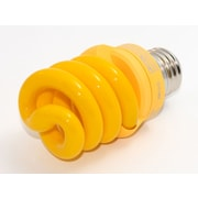 TCP SpringLamp® 13 Watt 120 Volt Spiral Candelabra CFL Bulbs, Yellow
