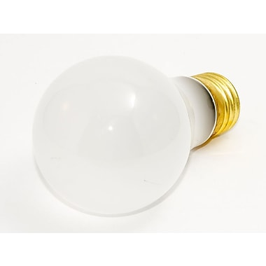 Bulbrite® 60 Watt 130 Volt A19 Rough Service Bulb, Frosted/Warm White