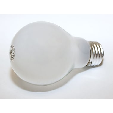 Bulbrite® 60 Watt 120 Volt A19 Bulb, Opaque/Soft White