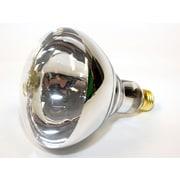 Philips 125 Watt 120 Volt BR40 Heat Reflector Bulb, Clear/Warm White