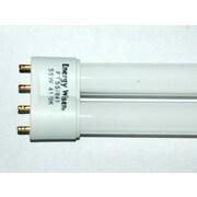 Bulbrite® 55 Watt 4-Pin Long Single Twin Tube CFL Bulb, Cool White