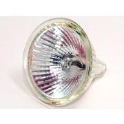 Bulbrite® 50 Watt 12 Volt MR16 GU5.3 Halogen Flood EXN Bulb, Soft White, 10/Pack