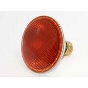 Bulbrite® 75 Watt 120 Volt PAR30 Clear Halogen Light Bulb, Amber