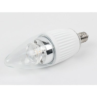 Bulbrite® 5 Watt B11 Dimmable Decorative LED Bulb, Warm White