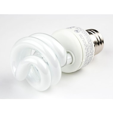 TCP 9 Watt 120 Volt Spiral CFL Bulbs, Warm White
