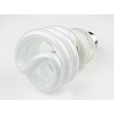 TCP SpringLight™ SpringLamps® 19 Watt 120 Volt Spiral CFL Bulbs, Warm White