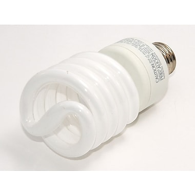 TCP SpringLight™ SpringLamps® 27 Watt 120 Volt Spiral CFL Bulbs, Warm White