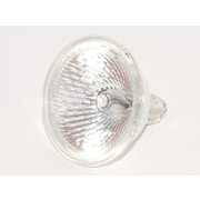 Ushio 50 Watt 12 Volt MR16/L Clear Halogen Wide Flood FNV Bulb, Warm White, 10/Pack