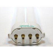 Ushio 9 Watt 4-Pin Single Twin Tube CFL Bulb, Warm White, 10/Pack