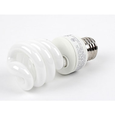 TCP SpringLight SpringLamps® 14 Watt 120 Volt Spiral CFL Bulbs, Neutral White, 12/Pack