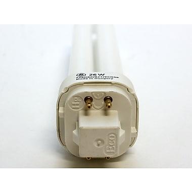 GE 26 Watt 4-Pin Double Twin Tube CFL Bulb, Warm White