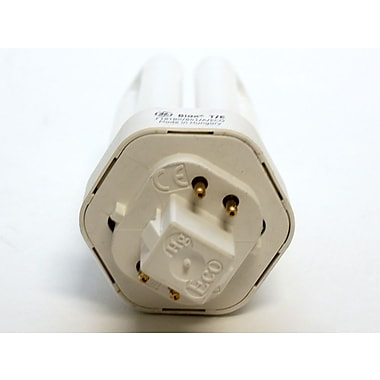 GE 18 Watt 4-Pin Double Twin Tube CFL Bulb, Cool White