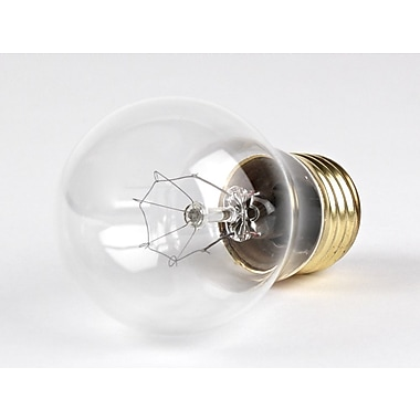 Halco® 15 Watt 130 Volt A15 Bulb, Clear/Warm White