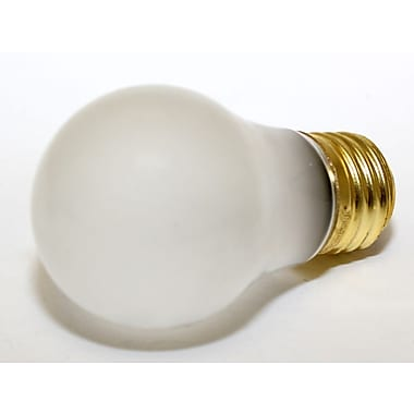 Halco® 15 Watt 130 Volt A15 Bulb, Frosted/Warm White, 12/Pack
