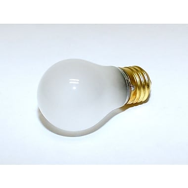 Halco® 25 Watt 130 Volt A15 Bulb, Frosted/Warm White