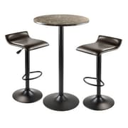 Winsome Cora 3 Piece Pub Table Set