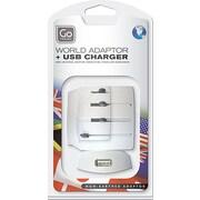 Go Travel Worldwide Polarized Adapter with USB