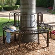 Design Toscano Architectural Metal Tree Bench