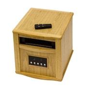 AZ Patio Heaters 1,500 Watt Infrared Cabinet Indoor Space Heater; Oak