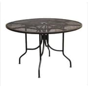 Paragon Casual Caledonia Round Mesh Table; 48''