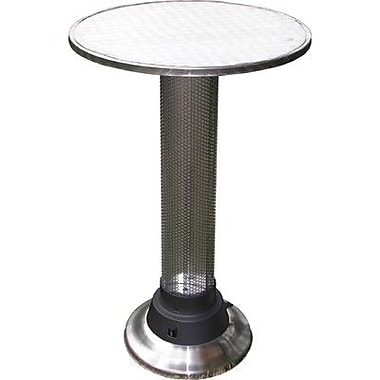 AZ Patio Heaters Pub Table w/ Built-In Electric Heater