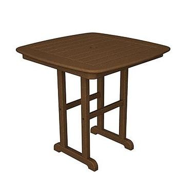 POLYWOOD Nautical Dining Table; Teak